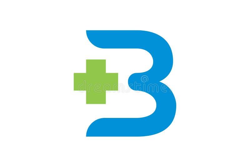 Здравоохранение вектора и медицинский шаблон логотипа иллюстрация штока