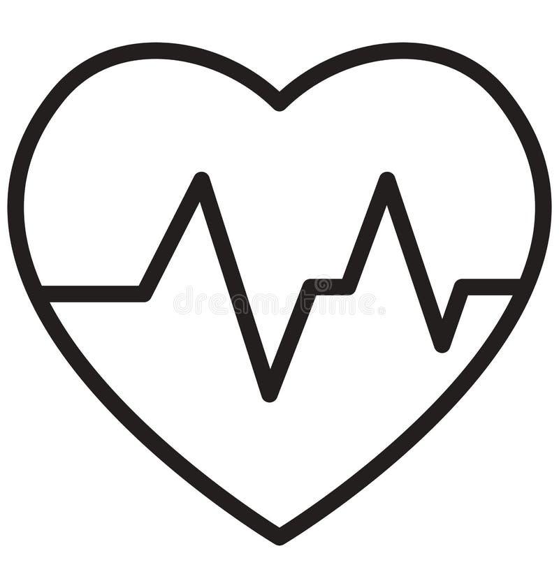 Здравоохранение изолировало значок вектора который может легко доработать или отредактировать иллюстрация штока