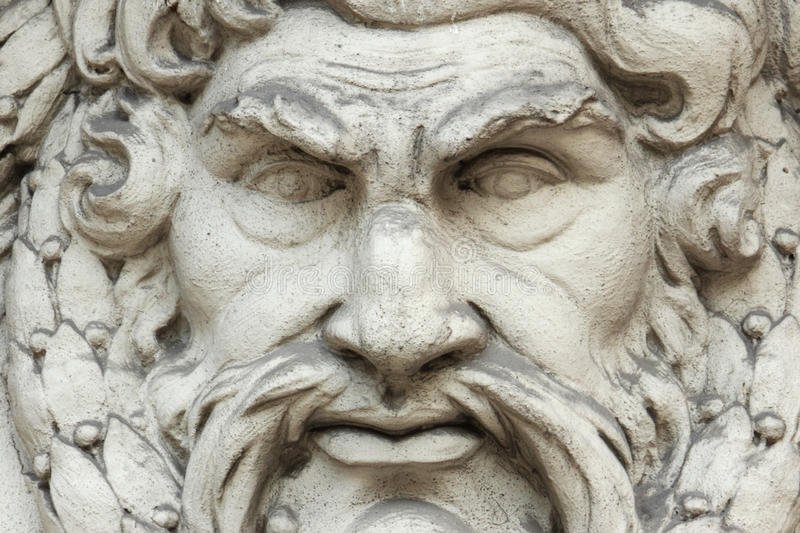 Зевс бога стоковое изображение rf