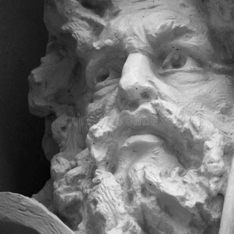 Зевс бога стоковые фотографии rf