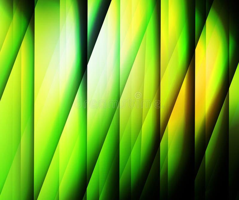 Зеленая абстрактная предпосылка иллюстрация штока