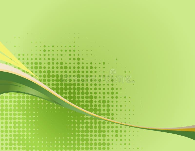 Зеленая волна стоковые фотографии rf