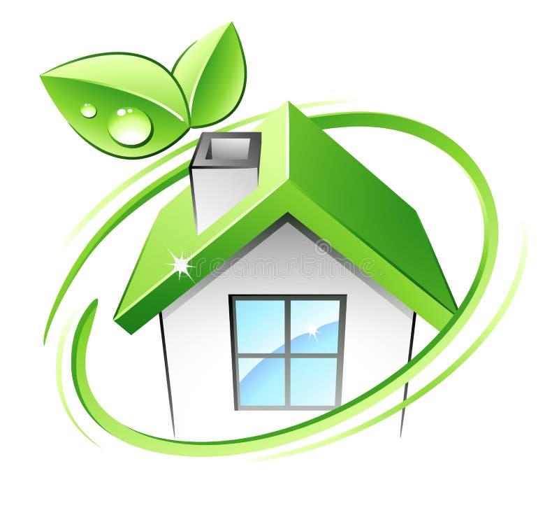 зеленая дом