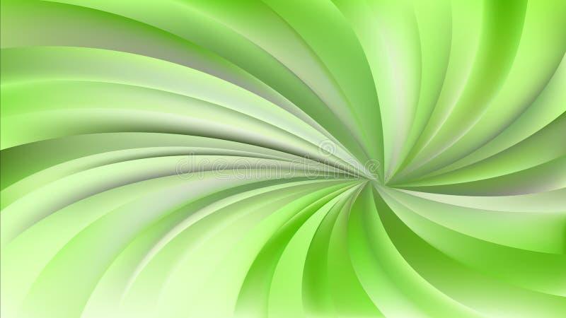 Зеленая и бежевая переплетенная спиральная предпосылка лучей бесплатная иллюстрация