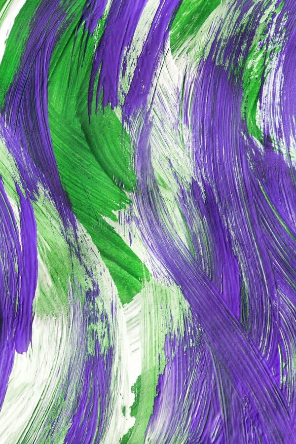 Зеленая и пурпурная картина бесплатная иллюстрация