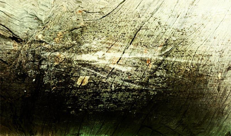 Зеленая и черная затеняемая деревянная текстурированная предпосылка текстура предпосылки grunge обои предпосылки стоковые изображения