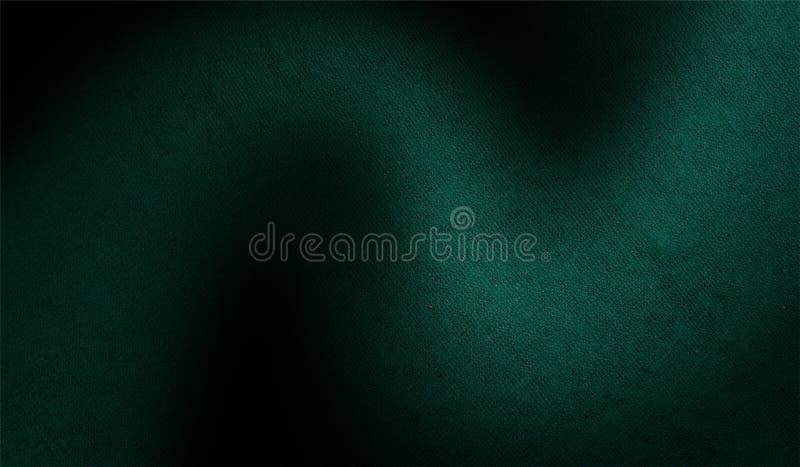 Зеленая и черная затеняемая текстурированная предпосылка бумажная текстура предпосылки grunge обои предпосылки иллюстрация вектора