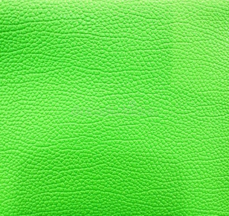 Зеленая кожаная предпосылка стоковые фотографии rf