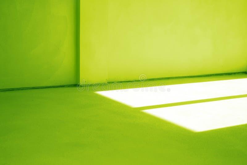 зеленая комната стоковые изображения rf