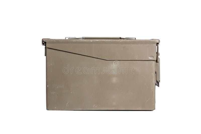 Зеленая коробка пуль стоковое изображение rf