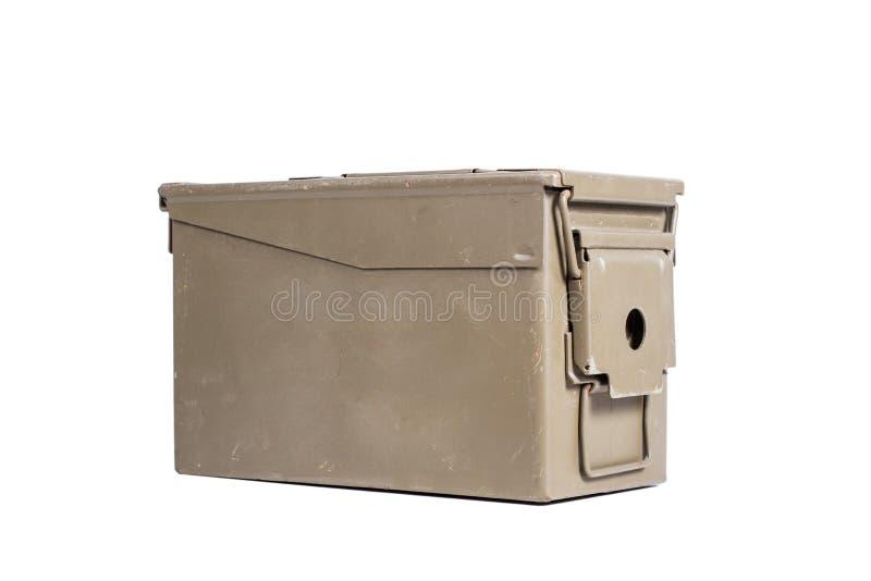Зеленая коробка пуль стоковые фотографии rf