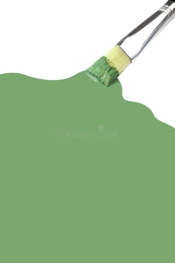 зеленая краска иллюстрация штока
