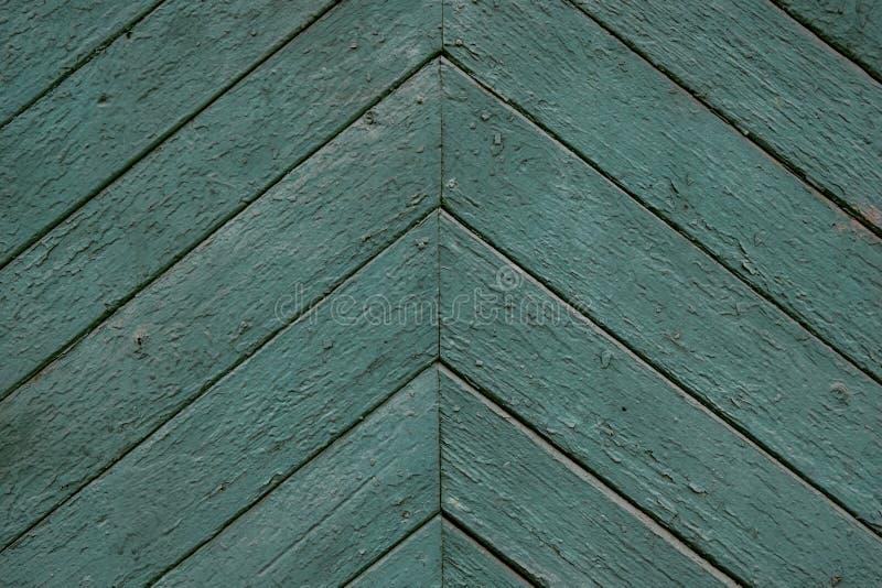 Зеленая мята покрасила деревянные текстуру и предпосылку доски стоковые изображения