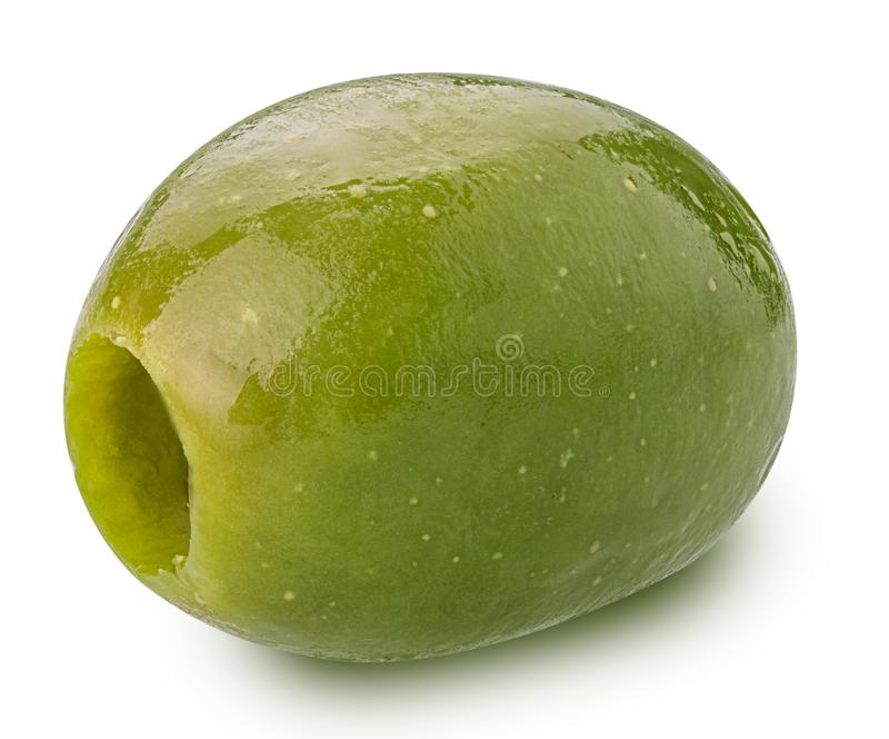 Зеленая оливка стоковые фото