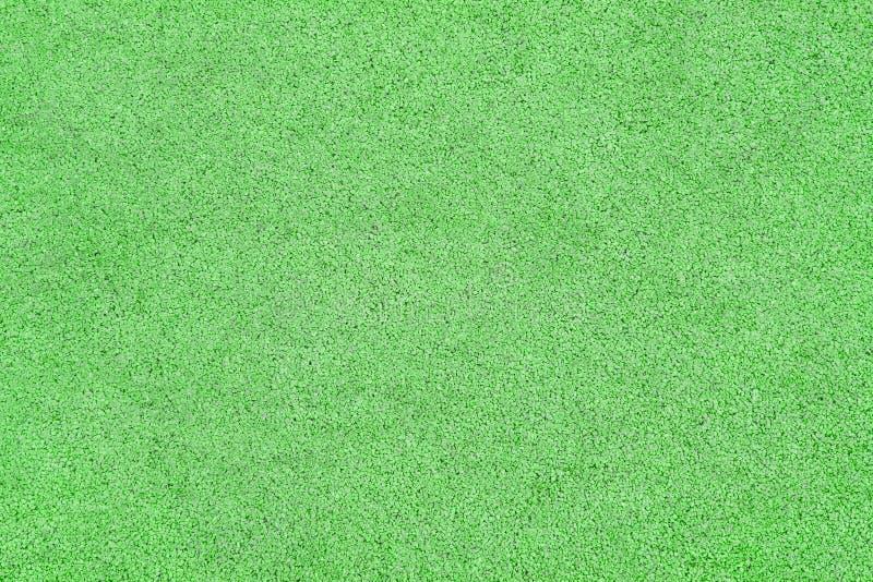 Зеленая поверхность крошки каучука как текстура стоковое изображение rf
