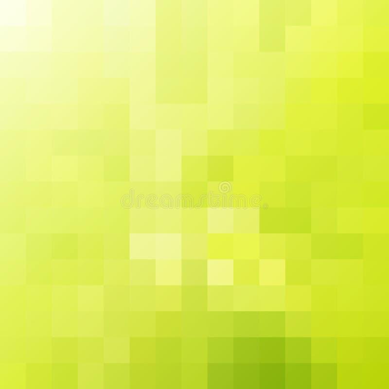 Зеленая предпосылка мозаики бесплатная иллюстрация