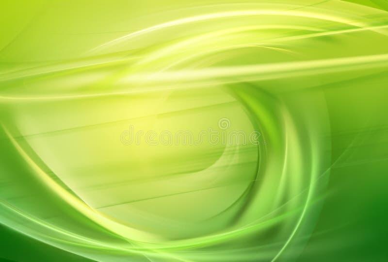 Зеленая предпосылка иллюстрация штока