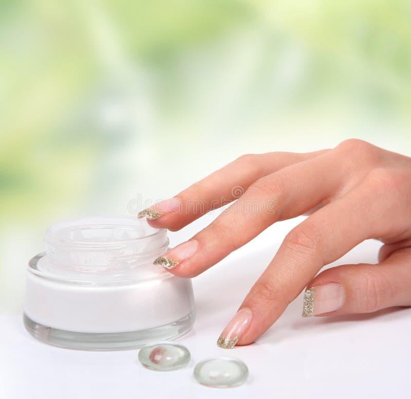 зеленая рука здоровая стоковая фотография