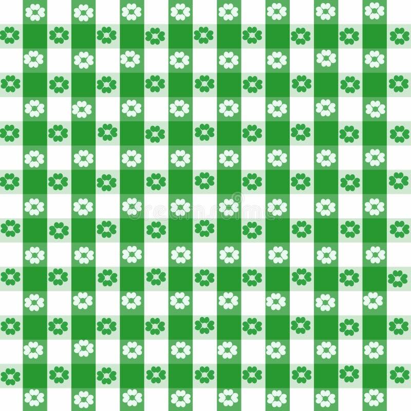 зеленая скатерть иллюстрация штока