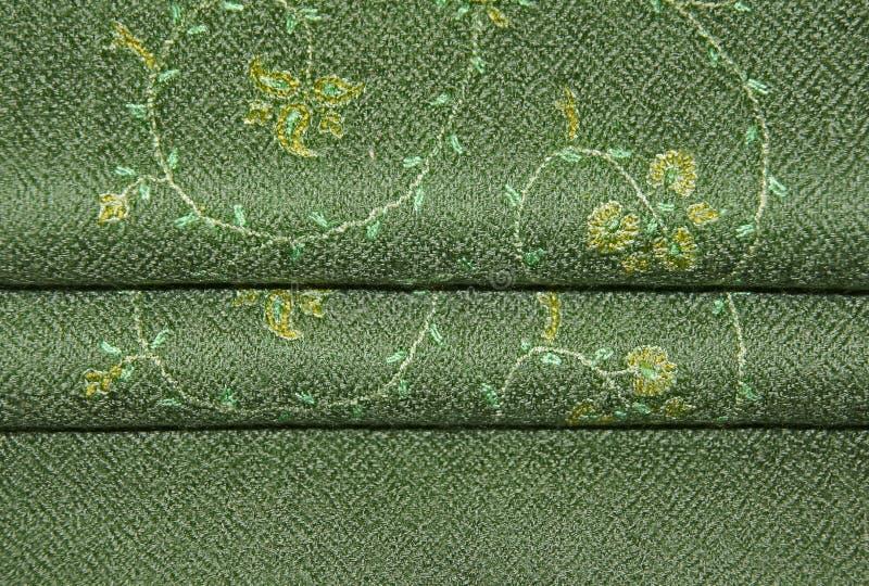 зеленая шаль pashmina стоковые фотографии rf