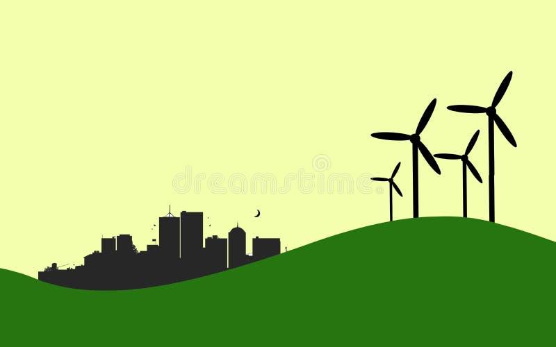Зеленая энергия стоковые изображения rf