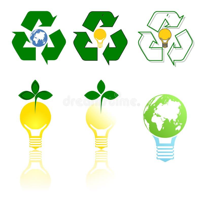 Зеленая энергия стоковая фотография