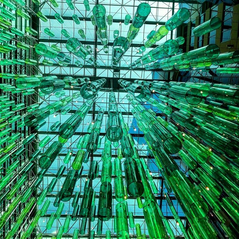 Зеленое стекло стоковые изображения