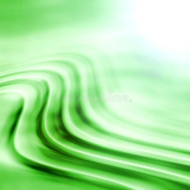 зеленые волны бесплатная иллюстрация