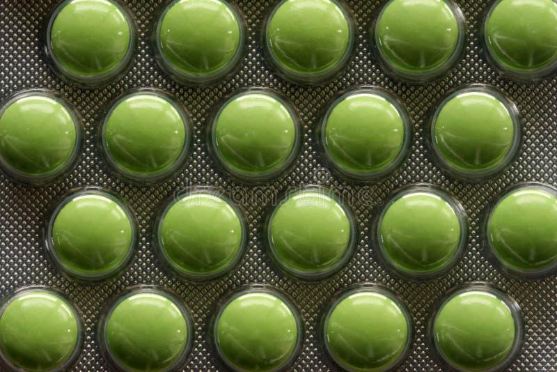 зеленые пилюльки стоковые фотографии rf