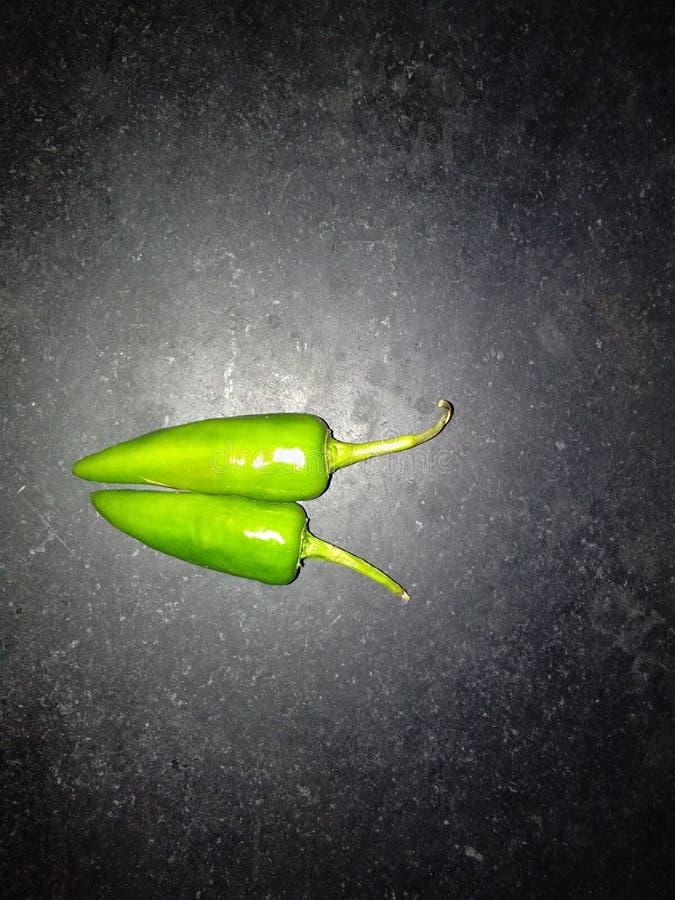 Зеленые Chilies стоковые изображения rf