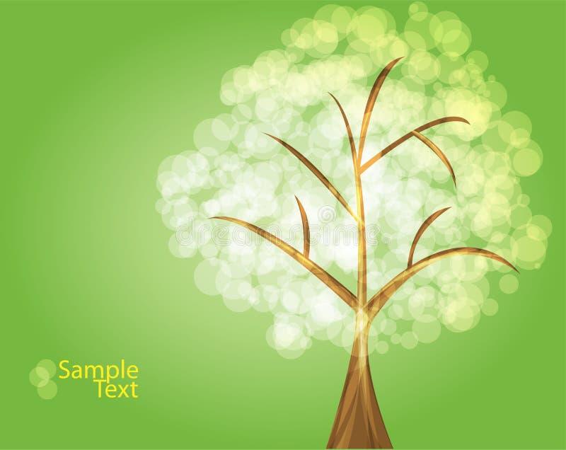 зеленый вал иллюстрация штока