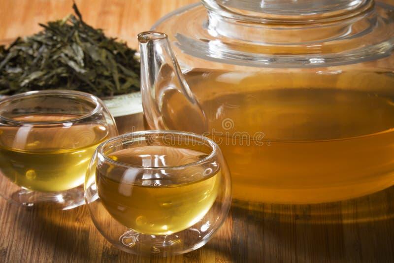 зеленый здоровый чай стоковое фото rf