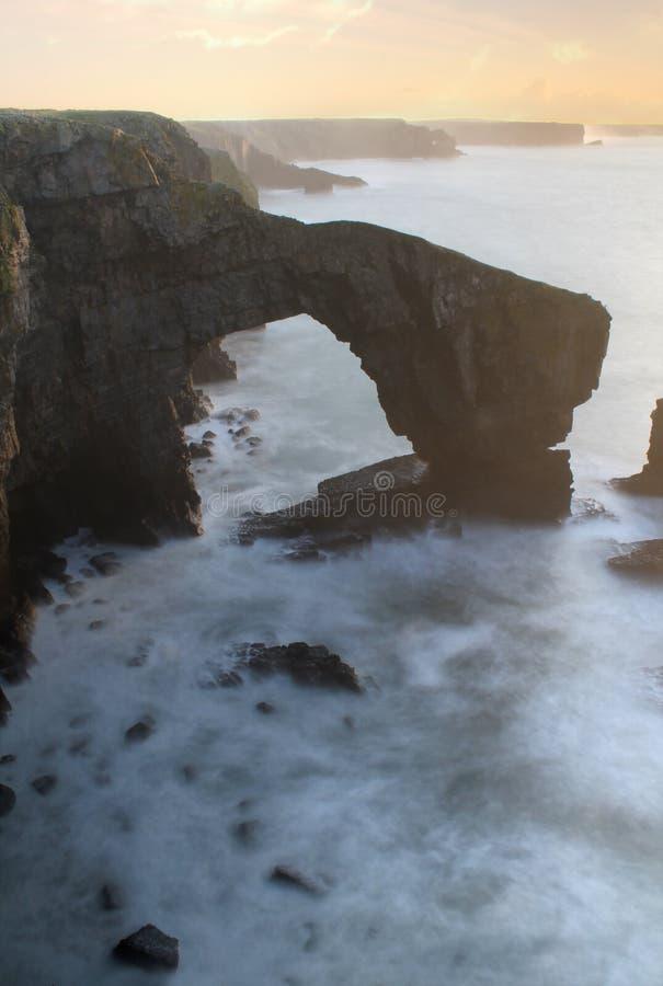 Зеленый мост Уэльса стоковые изображения