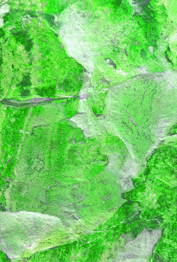 зеленый мраморизовать стоковая фотография