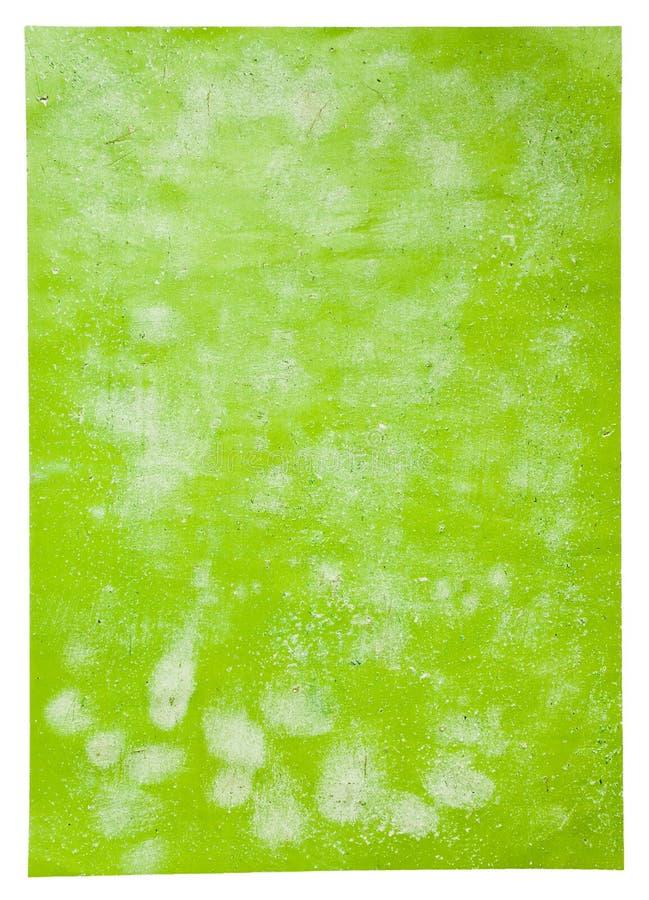 зеленый плакат бумаги страницы стоковые изображения