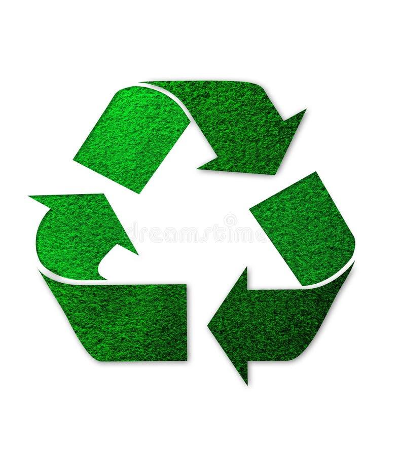 зеленый рециркулировать логоса стоковая фотография