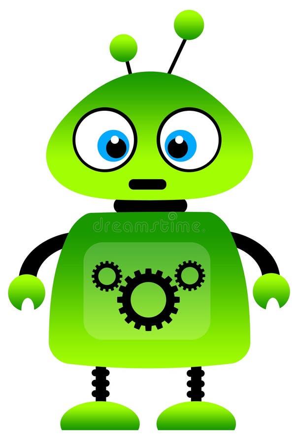 зеленый робот бесплатная иллюстрация