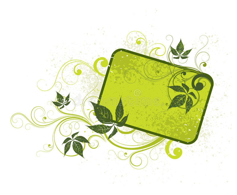 зеленый свет предпосылки флористический бесплатная иллюстрация