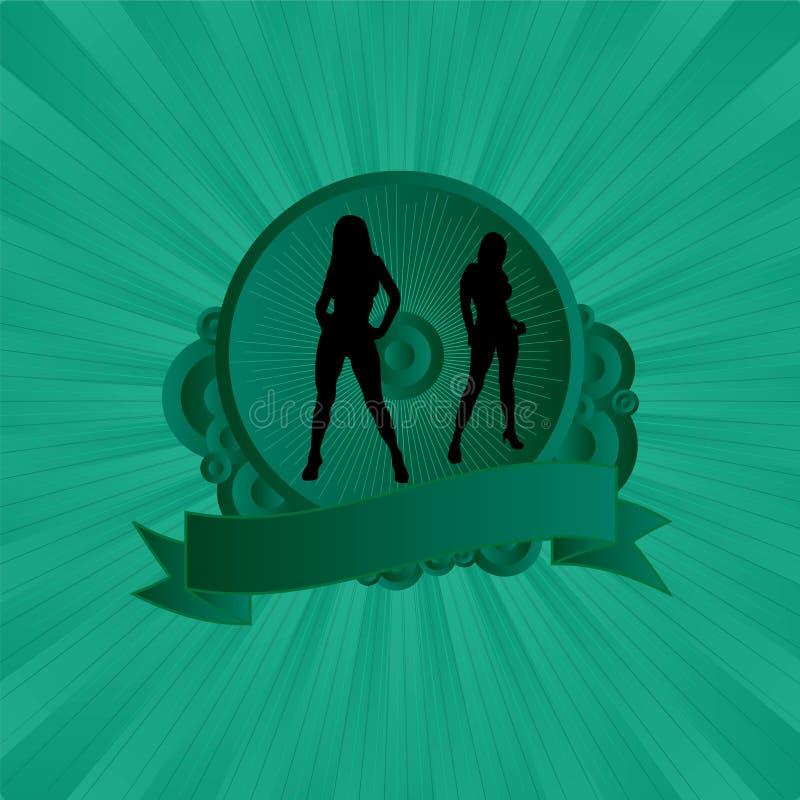 зеленый сексуальный экран бесплатная иллюстрация