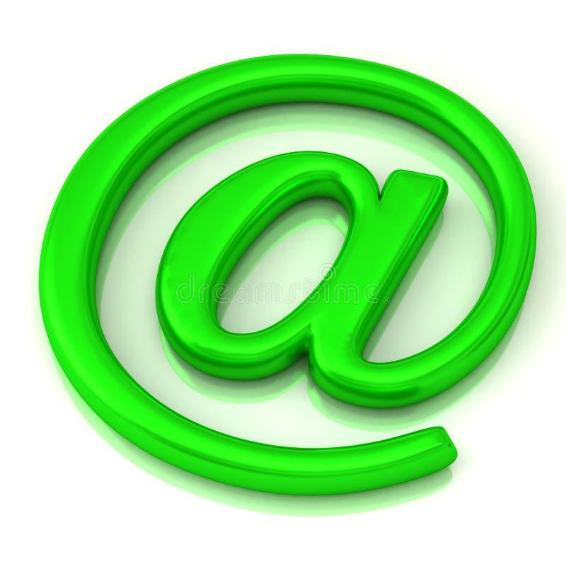 зеленый символ иконы 3d бесплатная иллюстрация