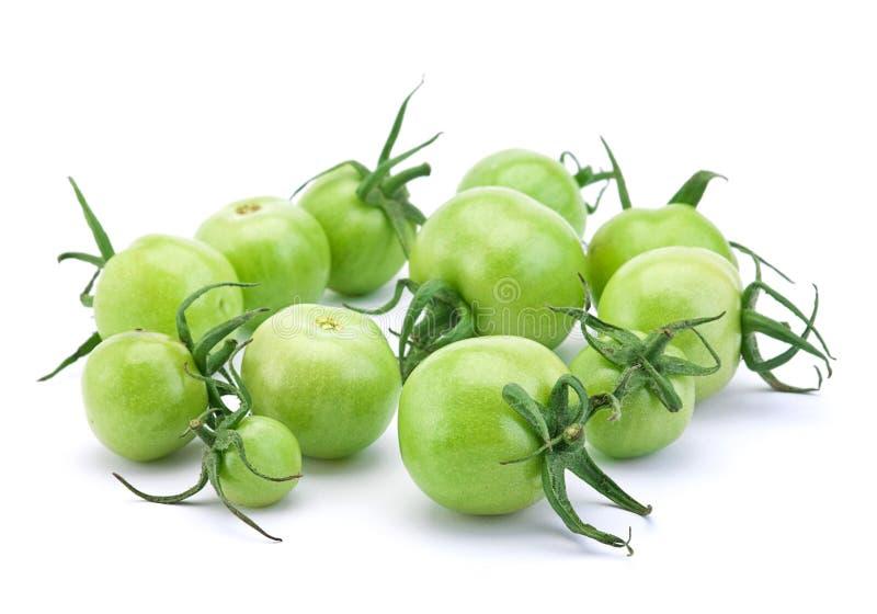 Download зеленый сырцовый томат стоковое фото. изображение насчитывающей бело - 18390672