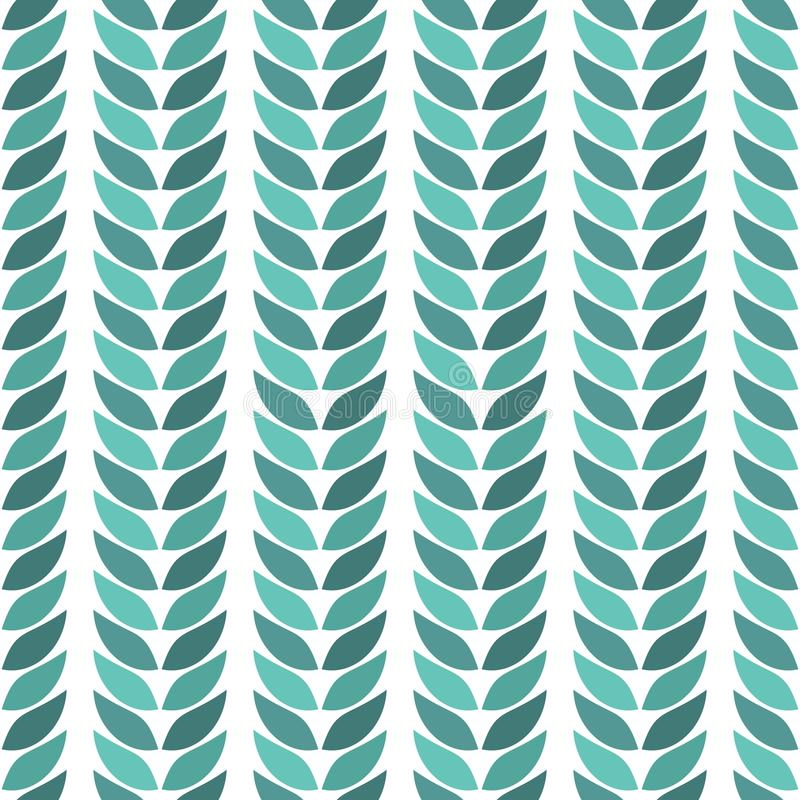 Зеленый цвет выходит геометрическая ложь точно на светлую предпосылку иллюстрация вектора
