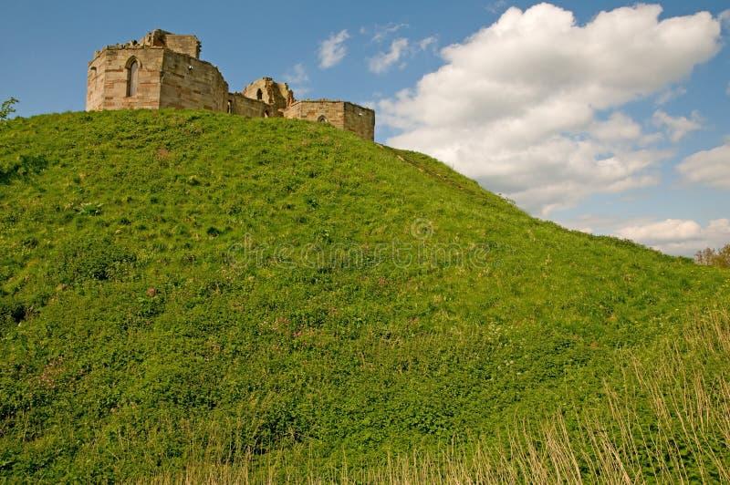 зеленый цвет замока стоковые изображения