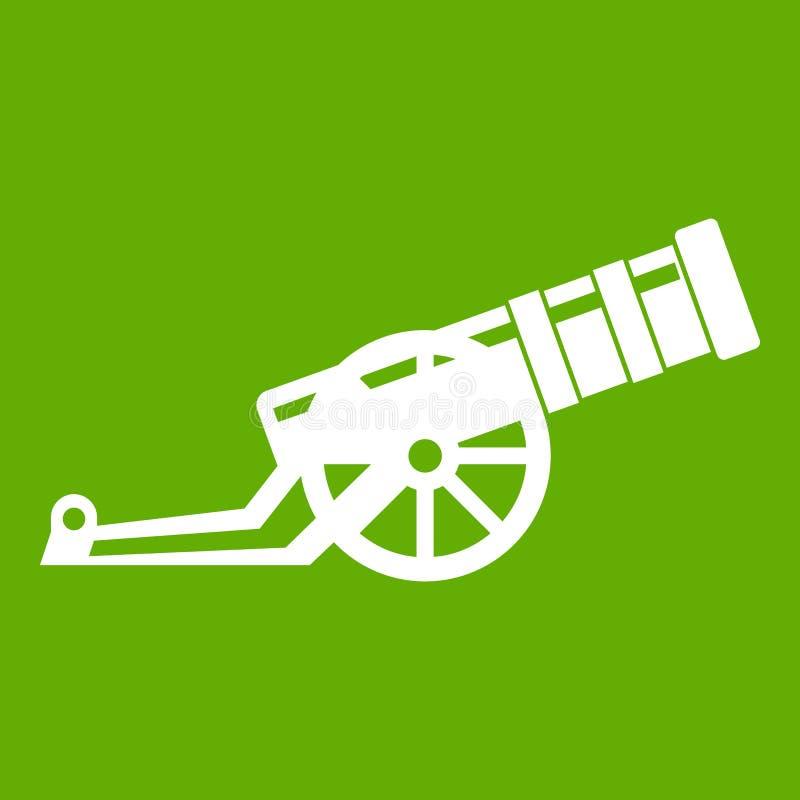 Зеленый цвет значка карамболя иллюстрация вектора