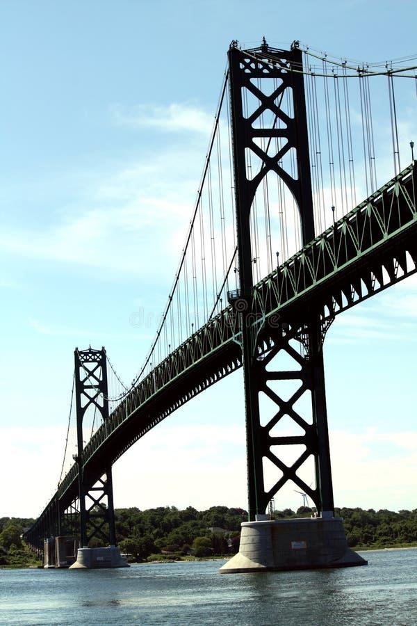 зеленый цвет моста стоковое фото