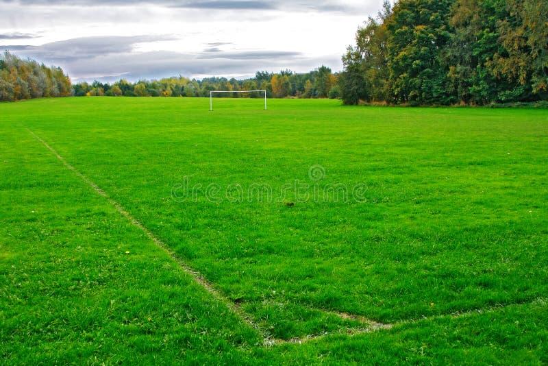 Download зеленый цвет поля стоковое изображение. изображение насчитывающей футбол - 6859033