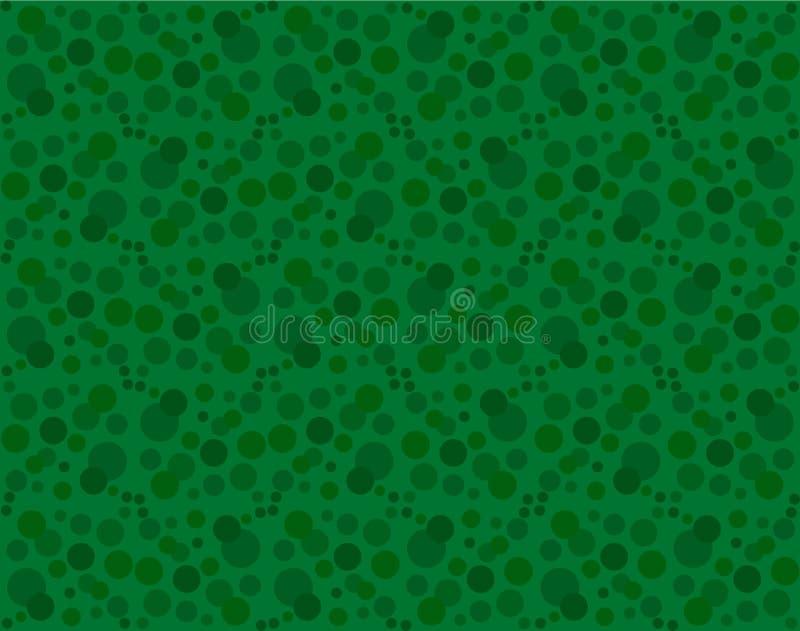 зеленый цвет поставленный точки предпосылкой Винтажные точки конспекта фона бесплатная иллюстрация