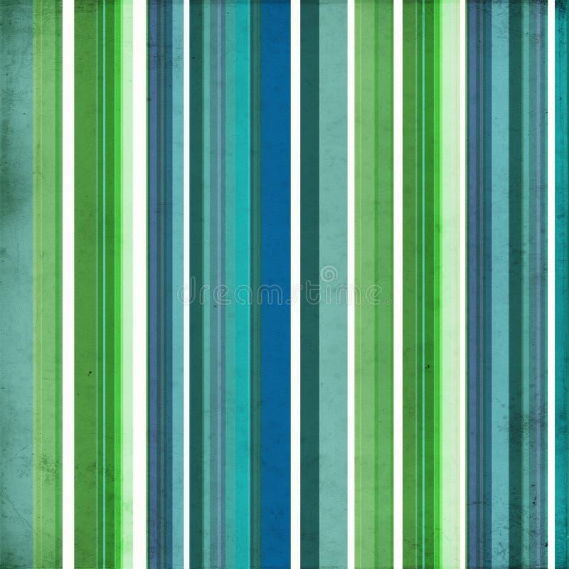 зеленый цвет предпосылки голубой striped стоковое фото