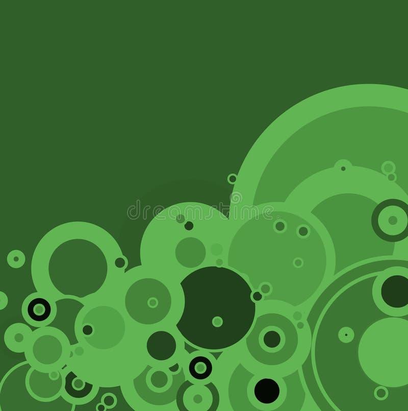 зеленый цвет пузыря иллюстрация вектора