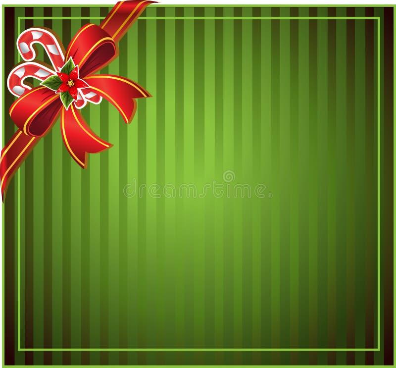 зеленый цвет рождества предпосылки иллюстрация штока